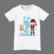 Pirate birthday t-shirt