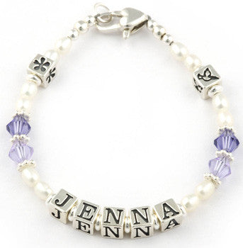 Personalised holy communion bracelet