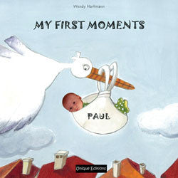 My First Moments personalised book