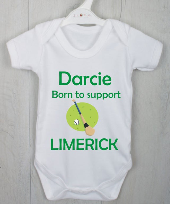 Born to support Hurling vest
