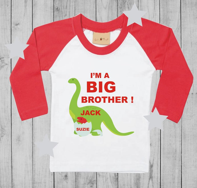 I'm a big brother t-shirt boy long sleeves