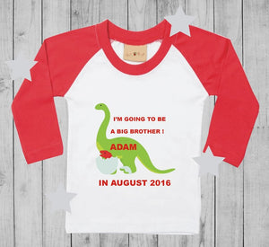 I'm going to be a big brother t-shirt boy long sleeves