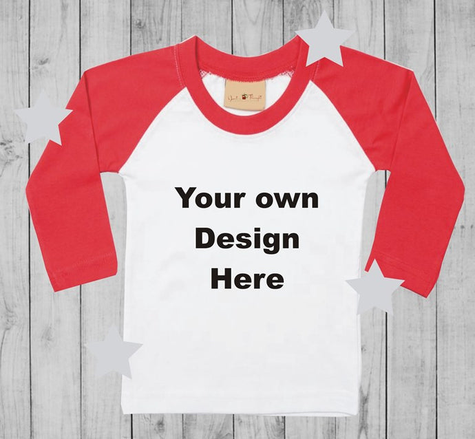 Design your own  t-shirt boy long sleeves
