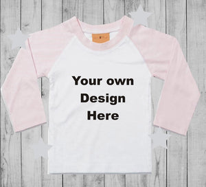 Design your own  t-shirt girl long sleeves
