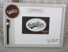 Christening Signature Frame