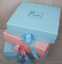Personalised Gift Set for New Baby in Pink Box