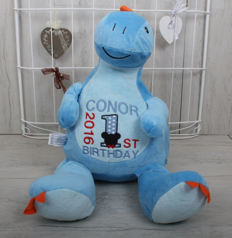 Monty the personalised dinosaur