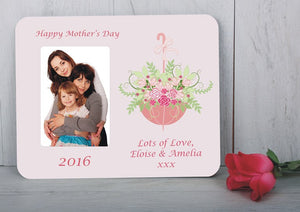 Flowers for you picture frame