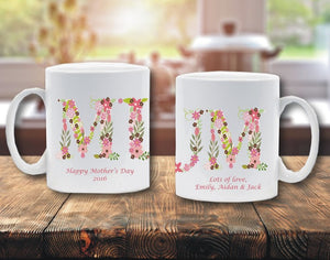 MUM personalised mug