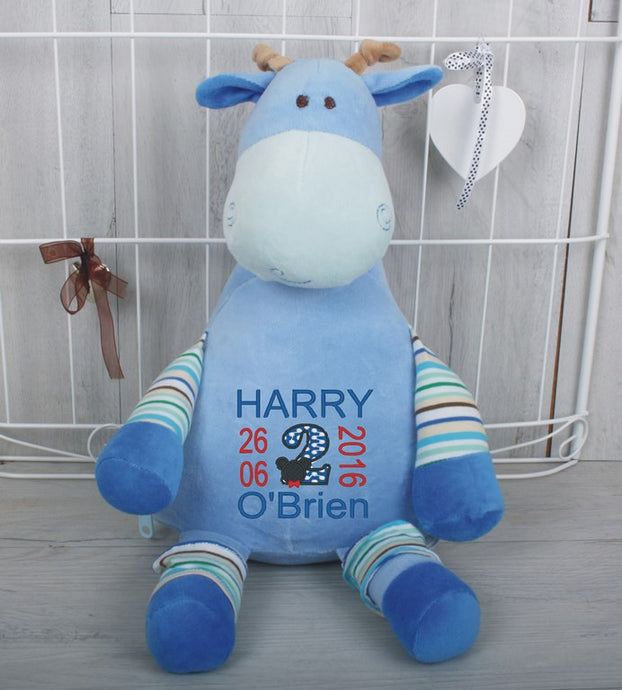 Gerry Giraffe Personalised Teddy Bear