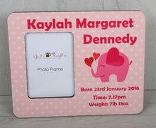 Personalised picture frame