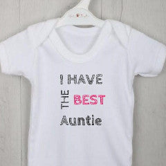 Personalised Baby Vest with