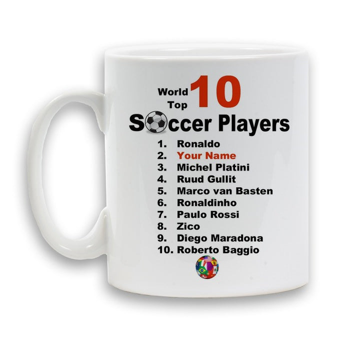 Best Soccer Player mug