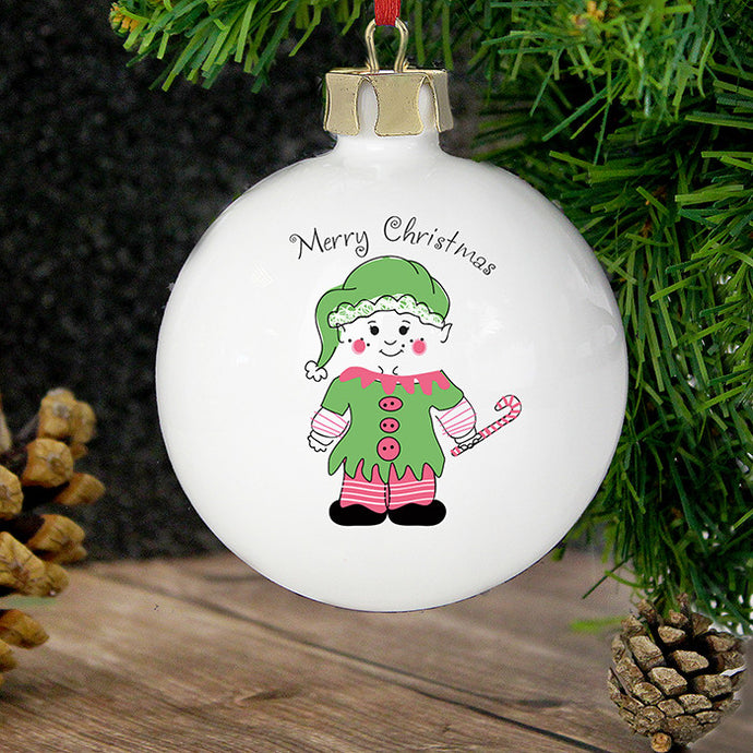 Cheeky Elf decoration
