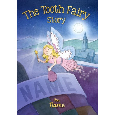 The Tooth Fairy personalised book