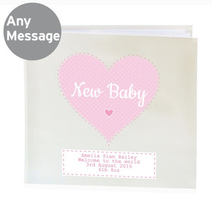 Stitch & Dot Girls Album with Sleeves