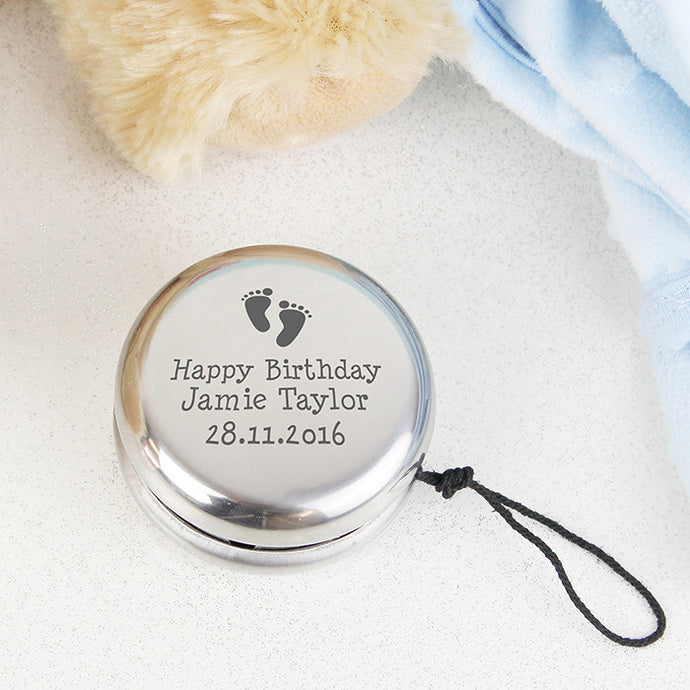 Personalised Footprints YOYO