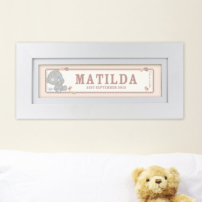Tiny Tatty Teddy Name Frame