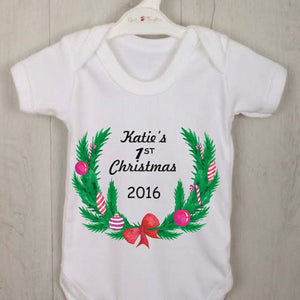Baby's First Christmas Personalised Gift