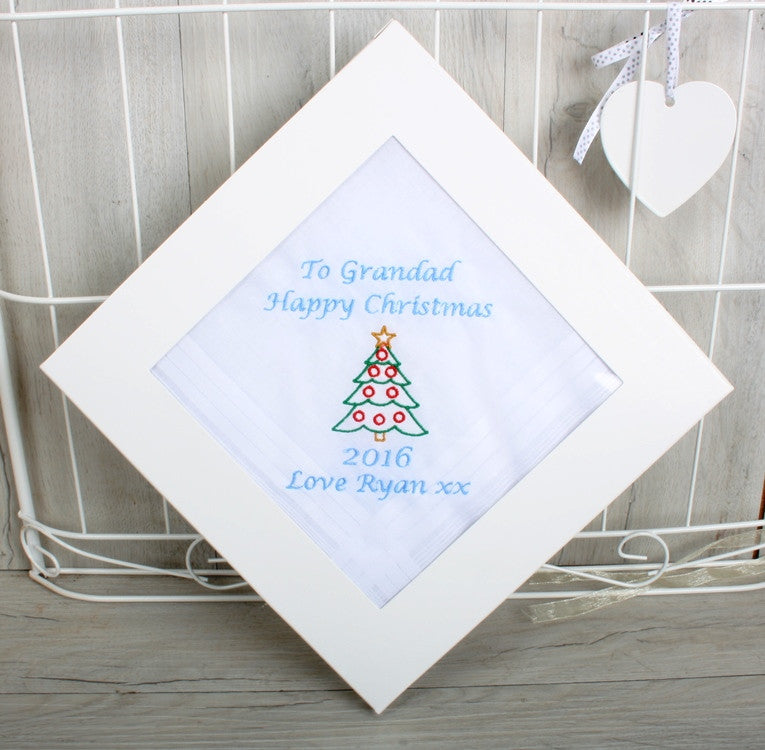 Christmas handkerchief