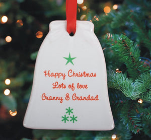 Age Christmas Ornament