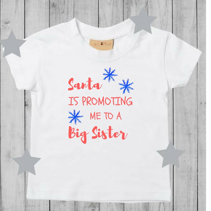 Christmas Promoted to Big Sis / Bro TShirt