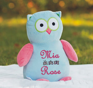 Personalised Owl Teddy