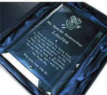Godmother plaque