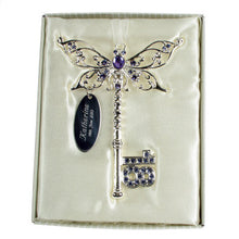 Lilac Butterfly Key for 18th Birthday Gift
