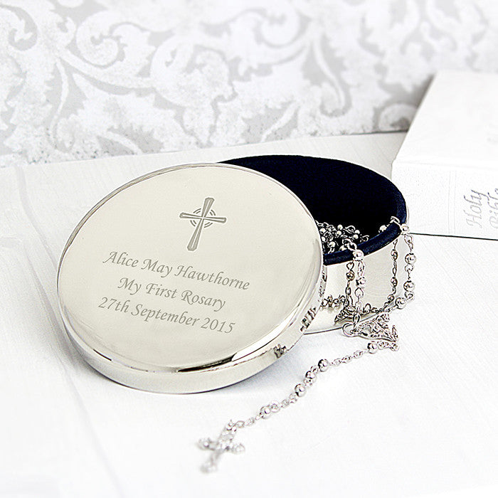 Personalised rosary trinket