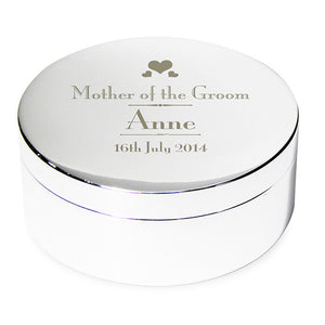 Personalised wedding trinket