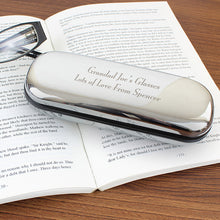 Personalised reading glasses case