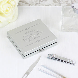 Any message manicure set