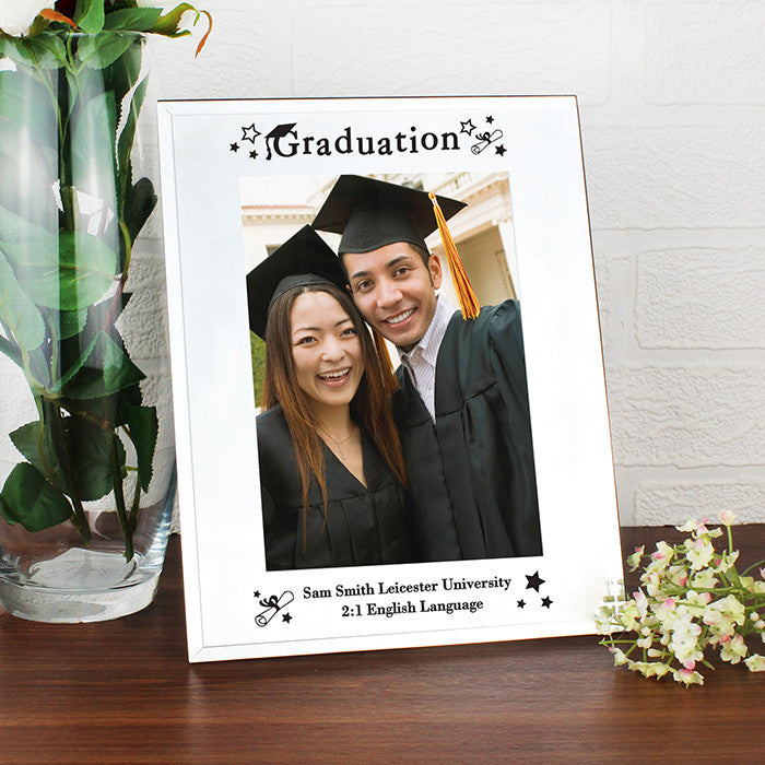 Mirrored Graduation Glass Frame