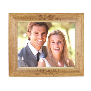 Personalsed photo frame