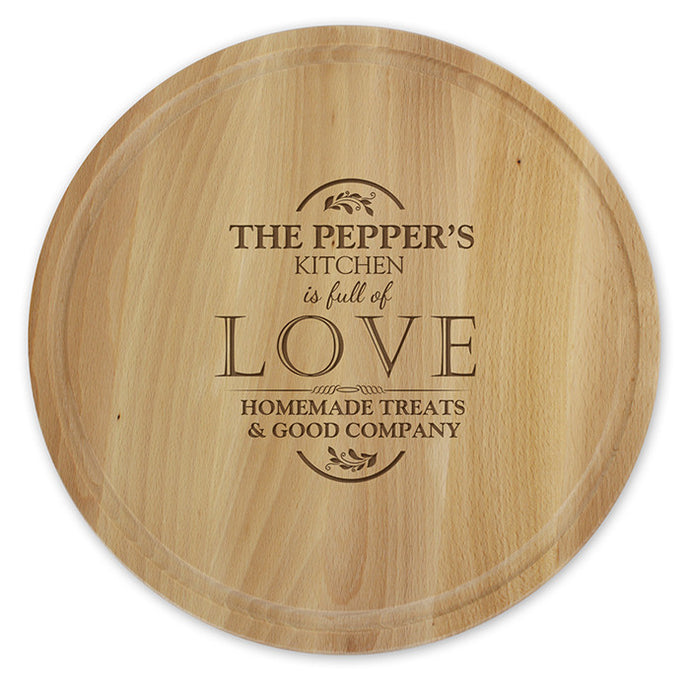 Full of Love chopping Board