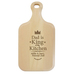 King/Queen of the kitchen chopping board