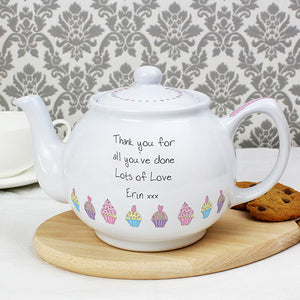 Bone China Teapot with Personal Message