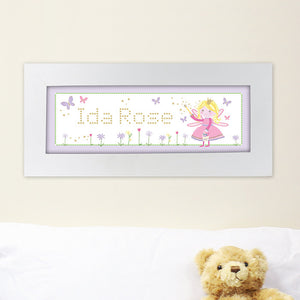 Garden Fairy name frame