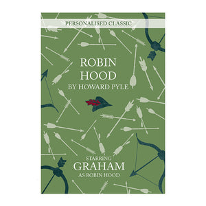 Robin Hood personalised book