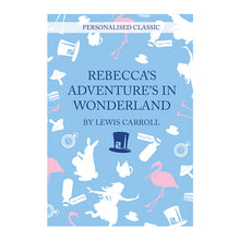 Alice in Wonderland personalised book