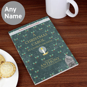 A Christmas Carroll personalised book