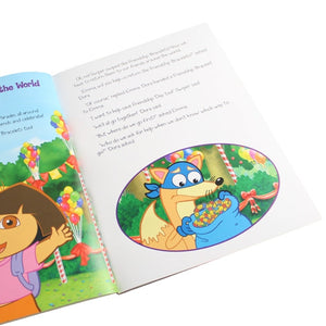 Dora the Explorer personalised book