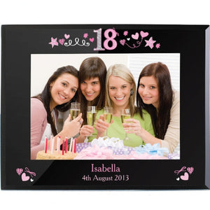 Photo Frame Personalised 18th Birthday Gift