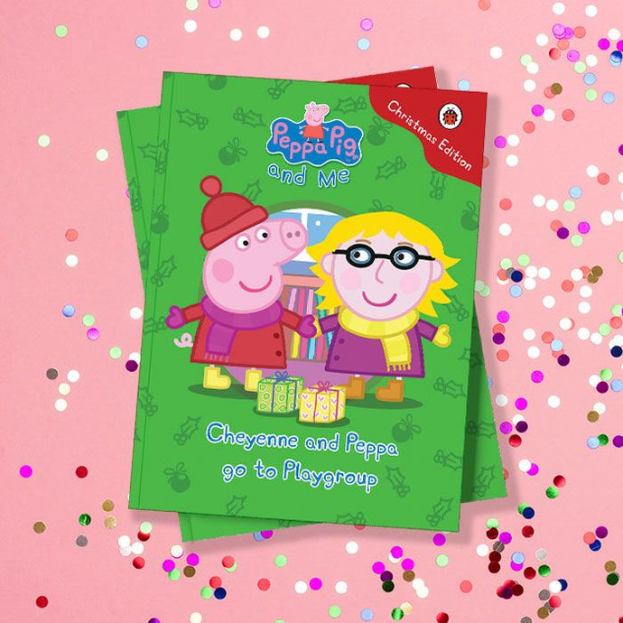 Peppa Pig personalised book Christmas Edition