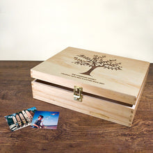 Our family tree memory box