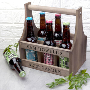 Personalised Beer Carrier **Out of Stock**
