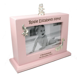Personalised baby photo album