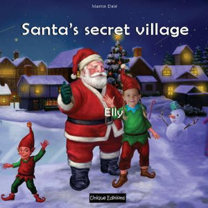 Santa's secret village Personalised Book