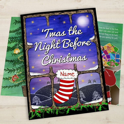 Personalised Christmas Book for children